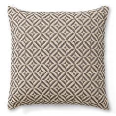 Geo Grey Cushion