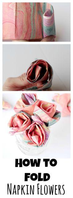 How To Fold Napkin F