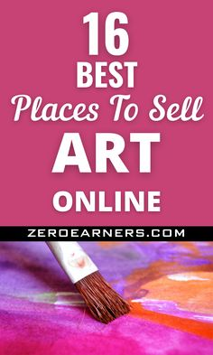 Want to sell art online? Yes? Here are some of the best places to sell art online. #sellartonline #sellart #art #makemoneyonline #makemoneyfromhome #parttimejobs #sidehustles #hobbiesthatmakemoney Hobbies That Make Money, Make Money From Home, Make Money Online, How To Make Money, Things To Sell, Sell Used Stuff Online, Sell Stuff, Selling Art Online, Part Time Jobs