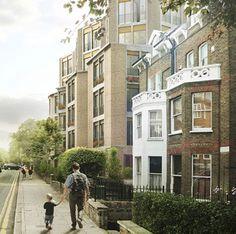 Sergison Bates housing. render