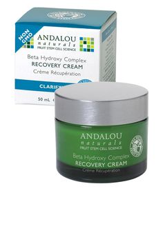 Andalou Naturals BTS Essential: Beta Hydroxy Complex Recovery Cream (formerly known as our Clear Overnight Recovery Cream).  #andalounaturals #backtoschool #pintowin