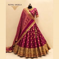 Indian Gowns Dresses, Indian Fashion Dresses, Dress Indian Style, Indian Designer Outfits, India Fashion, Japan Fashion, Wedding Lehenga Designs, Designer Bridal Lehenga, Pink Bridal Lehenga