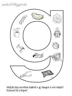 Akik folyamatosan olvassák a bejegyzéseimet, illetve a Facebook-on követnek, már találkozhattak ezekkel a kis képekkel. Az volt a tervem, h... Letter Activities, Preschool Worksheets, Tree Bookshelf, Dysgraphia, First Grade, Special Education, Letters, Teaching, Writing
