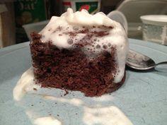 Apparently the yummiest Flourless Chocolate Mug Cake (Keto) I have found so far.
