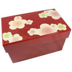 Transform Bento Box (Traditional Flower Red)