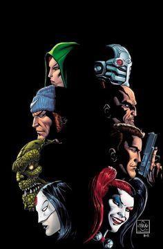 Suicide Squad by Ethan Van Sciver.