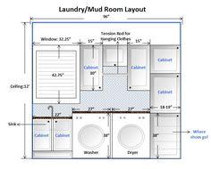 Aqua Laundry Rooms, Laundry Room Tables, Mudroom Laundry Room, Laundry Room Layouts, Laundry In Bathroom, Laundry Room Floors, Laundry Area, Basement Guest Rooms, Basement Ideas
