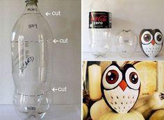 Kerajinan Sederhana Dari Botol Plastik