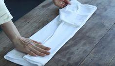 Aprenda a dobrar as suas roupas perfeitamente com técnica japonesa