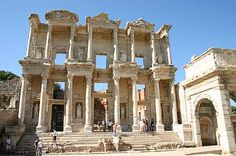 EPHESUS, Turkey, a surprisingly modern ancient city unearthed near the port of Kusadasi.  Other important Ancient World sites very near.  It was the crowning moment of our time in the mediterranean.