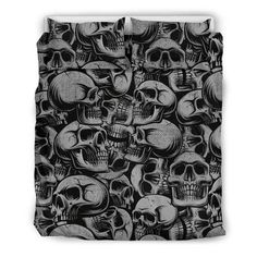 Are you looking for unique bedding sets for adults? We got you covered. All of our bedding sets have unique designs such as gothic bedding sets, skull bedding sets and more. Our bedding sets are super-soft, comfortable, and perfect for any season. Each bedding set comes with a duvet cover and 2 pillow covers. Blue Bedding Sets, Queen Bedding Sets, Gothic Bed, Japanese Warrior, Unique Bedding, Modern Warfare, Pillow Covers, Skull, Pillows