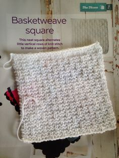 Issue 11 - Basketweave square