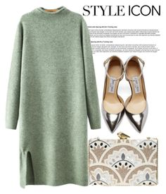 """Pistachio couture"" by sweet-fashionista ❤ liked on Polyvore featuring Chicnova Fashion, Jimmy Choo and KOTUR"