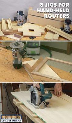 Woodworking jigs