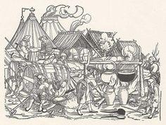 Belagerung von Münster, Detail 7 (1. Hälfte 16. Jh.)