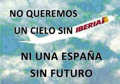 No al desmantelamiento de Iberia #SaveIberia #NoIAG #IBERIAESPAÑOLA