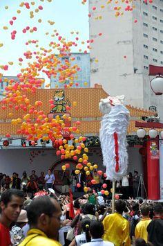 A comemoração do Ano Novo Chinês chega ao vão do Masp nesta quarta-feira,  dia 2 de fevereiro, com entrada Catraca Livre.