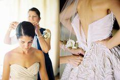 Monique Lhuillier Rosette Wedding Dress