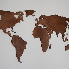 Repurpose old pallet wood board wooden world map wall art abstract art 3d wall art wall hanging world map office 3d gumiabroncs Images