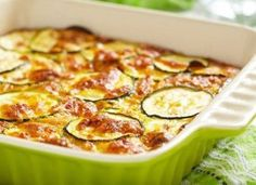 Gratin de courgettes Weight Watchers - Erin K. Zucchini Gratin, Zucchini Casserole, Squash Casserole, Casserole Recipes, Courgettes Weight Watchers, Homemade Cottage Cheese, Low Carb Side Dishes, Vegetarian Entrees, Main Meals