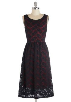 Pure Fulfillment Dress in Cherry, @ModCloth