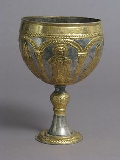 Chalice  Byzantine, 6th-7th century AD  The Metropolitan Museum of Art