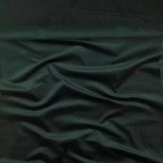 Francia bársony – Sötétzöld színben Spandex, France