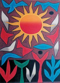 John COBURN_Sun Music_Art aborigene australien