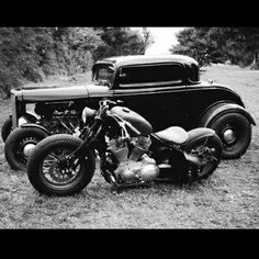 Harley-Davidson | Bobber Inspiration - Bobbers and Custom Motorcycles August 2014 #bobber #hotrod
