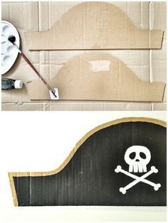 Make your own pirate hat