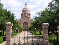 Austin, Texas.  The Capital of Texas-