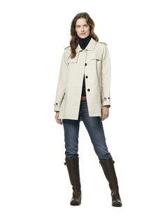I also Like the idea of doing something with all of you in Hunter Boots.  It is a VERY casual look and great if we want to go down to the water    Womans Rain Coat | Lightweight Rain Coats | Hunter Boot Ltd