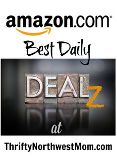 Amazon Online Shopping - Best Daily Deals RoundUp! Find the daily Amazon Lightning Deals, and best mark downs as well as gold box deals all in one spot (Updated Regularly) - Thrifty NW Mom