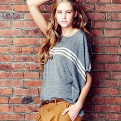 Asymmetric Shirt Gray, $59, now featured on Fab.