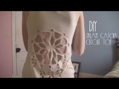 DIY: Dream Catcher Cutout Top