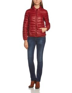 edc by ESPRIT Damen Jacke 093CC1G001, Gr. (L), Rot (601 dark rust) - [ #Germany #Deutschland ] #Bekleidung [ more details at ... http://deutschdesign.apparelique.com/edc-by-esprit-damen-jacke-093cc1g001-gr-l-rot-601-dark-rust/ ]