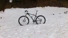 Bicicleta en la nieve