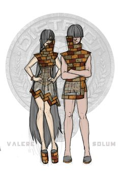 District 2 Chariot Costumes- by Windnstorm