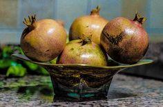 Granadas en mi cocina - http://fotos.valderramafdr.com/granadas-cocina/