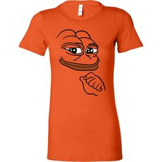 Bella Womens Shirt - Smug Pepe the Frog meme T-Shirt