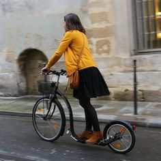 """Kickbike- pray as you go- for the next apt. follow that prayer up with a hearty """"thank you God for the city and streets that are full of peace and safety."""""""