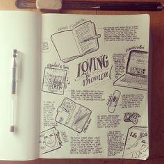 love her work beejaedee | latest doodles! sketch journaling is love. #sketch...