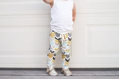 Toddler & baby leggings | toddler & baby pants | handmade   Organic Cotton Arrow Print Baby Leggings by LolaMarieDesigns