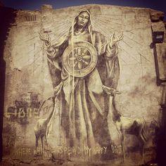 FAITH47 _ Outdoor Mural _ Spain