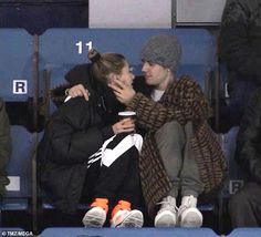 Justin Bieber and wife Hailey Baldwin cuddle up at a junior hockey game in Canada (Photos) Justin Bieber News, Justin Bieber Pictures, I Love Justin Bieber, Hailey Baldwin Model, Haley Baldwin, Cute Relationship Goals, Cute Relationships, Cute Couples Goals, Couple Goals
