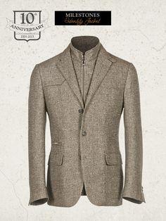 Corneliani ID Jacket I Limited edition 2015 http://www.corneliani.com/en/corneliani-id-milestones/identity-jacket-i