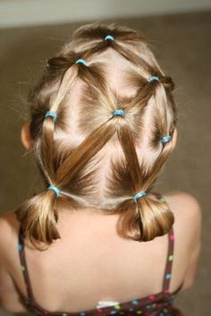 Criss Cross Applesauce! There are tons of hairstyles for little girls. They are awesome!!