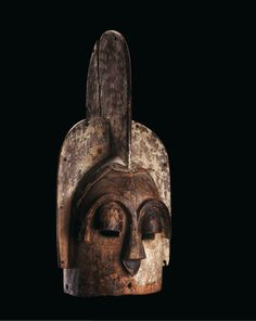 African Masks, African Art, Statues, Blue Wood, Wood Sculpture, Darth Vader, Fictional Characters, Primitives, Headdress