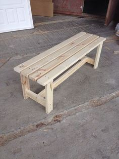 Comment Fabriquer Un Banc Bois Wood Furniture Homemade