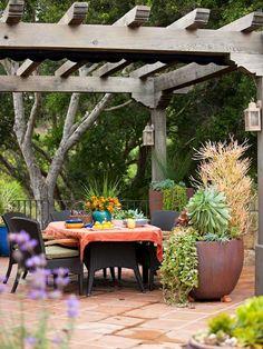 pretty, inspiring pergola ideas | pergolas, pergola ideas and ... - Outdoor Patio Design Ideen